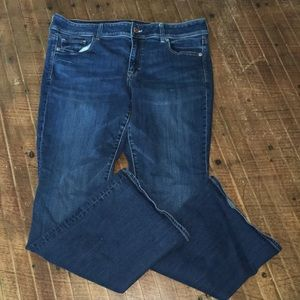 American Eagle super stretch kick boot jeans